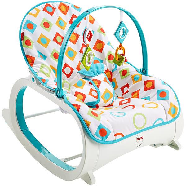 【狂降】Fisher-Price 費雪 新幾何可攜式安撫躺椅【佳兒園婦幼館】
