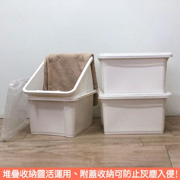 廠拍價-《真心良品x樹德》塔塔家置物箱28L (6入)-白色