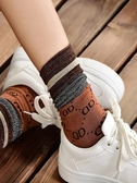 長襪子女韓國純棉春秋薄款金銀絲堆堆襪百搭亮絲中筒襪ins潮秋冬