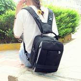 小型雙肩攝影包佳能單反相機包5D2 700D 760D80D尼康單反背包男女igo   電購3C