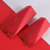 禮盒創意新款婚禮喜糖盒中國風家有喜事喜糖果禮盒空盒子包裝盒大小號-快速出貨