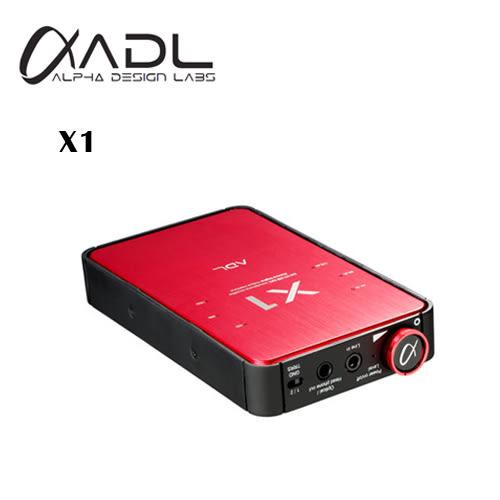 【竹北勝豐群音響】FURUTECH ADL X1 USB DAC/耳機擴大機-紅