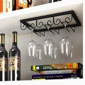 紅酒杯架倒掛歐式家用個性客廳創意現代簡約酒柜懸掛式高腳杯架子【快速出貨】