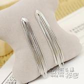 925純銀針時尚流蘇耳環長款女百搭韓國氣質新款耳墜 個性日韓   衣櫥の秘密