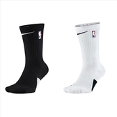 Nike Elite NBA Crew 黑白兩色 籃球襪 長襪 SX7587-010 SX7587-100