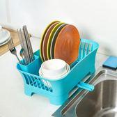 廚房置物架瀝水碗架台面瀝水架碗碟盤子餐具碗筷收納盒收納架碗櫃 NMS漾美眉韓衣
