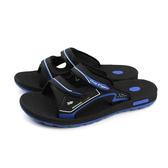 G.P 阿亮代言 涼鞋拖鞋 防水 雨天 黑/深藍 男鞋 G8547M-20 no876