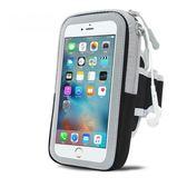 運動手臂包蘋果7臂套手腕包跑步健身iPhone6plus/5手機包防水透氣       伊芙莎