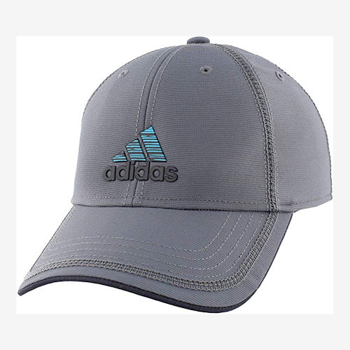 Adidas- 愛迪達男Contract 縫線結構帽(灰)