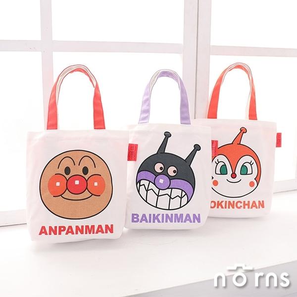 【卡通帆布手提袋 麵包超人】Norns 正版授權 便當袋 購物袋 帆布包 手提包 包包 環保袋 日本