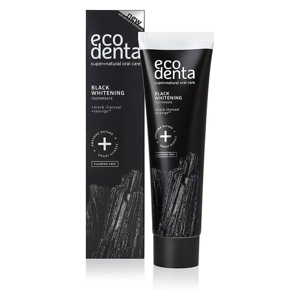 Ecodenta - 極致淨爽黑炭兒茶素無氟牙膏 100ml