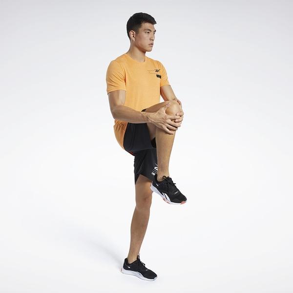 REEBOK EPIC LIGHTWEIGHT 男裝 短褲 訓練 排汗 透氣 抽繩 拉鍊口袋 黑【運動世界】FU2950
