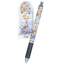 KAMIO JAPAN Pentel ENERGEL 自動式極速鋼珠筆 0.5mm 迪士尼 小熊維尼 小豬 童趣氣球_KM08857