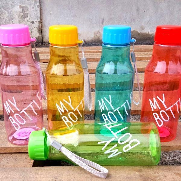 水杯【KCP007】My Bottle玩色汽水瓶530ml 水瓶 瓶子 水壺 隨手杯 汽水瓶 123ok