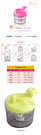 日本製 粉彩手搖切丁器 省力迴轉式蔬果調理器 切碎器 切菜機 切丁器 廚房用品【SV5082】BO雜貨