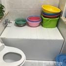浴缸架浴缸架折疊式多功能浴缸置物架浴室防塵保溫蓋浴缸蓋板洗澡盆蓋 LX 智慧 618狂歡