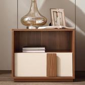林氏木業現代簡約小戶型耐磨儲物床頭櫃CP1B
