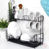 瀝水架創意廚房瀝水架碗碟筷架水槽多層置物架整理收納架晾碗滴水架XW(七夕禮物)