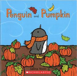 【麥克書店】PENGUIN AND PUMPKIN /英文繪本 《主題:節慶》作者:Salina Yoon
