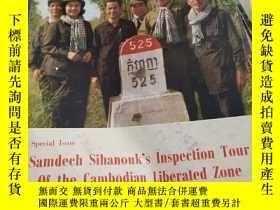 二手書博民逛書店Samdech罕見Sihanouk's Inspection Tour Of the Cambodian Libe
