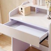 小戶型簡約現代梳妝台臥室收納迷你50化妝桌60厘米板式簡易經濟型   西城故事