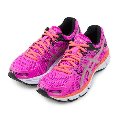 LIKA夢 Asics亞瑟士 專業慢跑鞋 GEL-OBERON 10 桃橘黑 T5N6N-3593 女