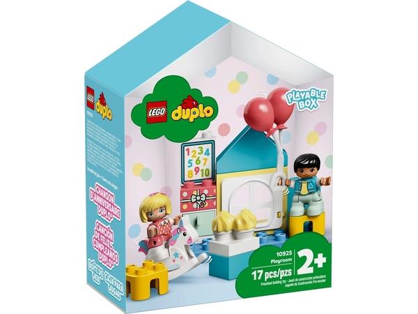 【愛吾兒】LEGO 樂高 duplo得寶系列 10925 遊戲房