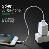 iPhone6數據線蘋果X8六5s7Plus手機mfiiPad充電器線加長  百姓公館