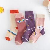 女童襪子春秋款純棉兒童中筒襪潮 春女孩可愛長筒公主襪~ 出貨八折鉅惠~