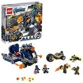LEGO 樂高 Marvel 復仇者卡車外賣 76143 美國隊長 Hawkeye 超級英雄動作 (477 件)
