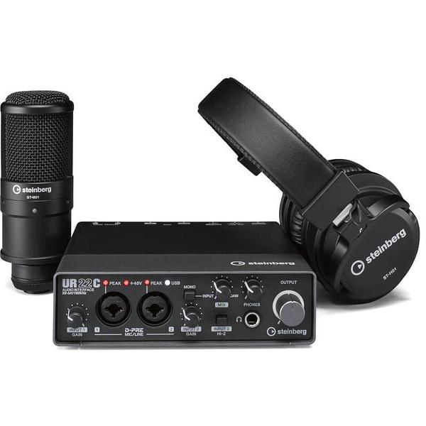 [唐尼樂器] 分期免運 YAMAHA Steinberg UR22C Recording Pack 錄音套裝組合