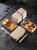 日式飯盒便當分格減脂健身餐盒上班族簡約微波爐專用可加熱餐