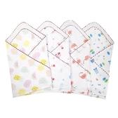 四層紗布純棉襁褓包巾新生嬰兒夏季薄款抱單裹布蓋被寶寶洗澡浴巾