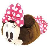 Hamee 日本正版 迪士尼 mocchi 疊疊樂造型 超柔軟 絨毛娃娃 玩偶 面紙套 面紙盒 (米妮) CY05674