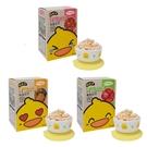 黃色小鴨 米餅 草莓/鳳梨/蘋果 8g*5包【德芳保健藥妝】