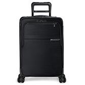 【終身保固 BRIGGS&RILEY】擴充加大25%空間!BL2吋可擴充登機箱(黑)+25吋可擴充四輪行李箱(黑)