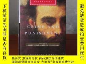 二手書博民逛書店Crime罕見and Punishment 罪與罰 Fyodor Mikhailovich Dostoevsky