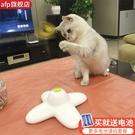 貓玩具逗貓棒貓咪的蝴蝶解悶自動網紅電動旋轉逗貓器玩具自嗨神器 夢幻小鎮