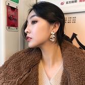 耳環 極簡 圓片 誇張 造型 肌理 耳釘 耳環【DD1710163】 BOBI  10/04