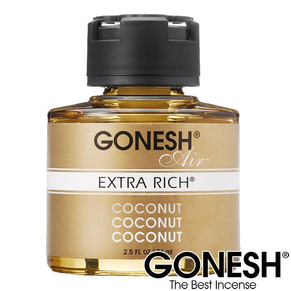 GONESH  液體精油 / 車用芳香精油 島嶼椰香 COCONUT【GO040】玻璃瓶液體芳香罐 74ml