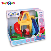 玩具反斗城  Peppa pig  粉紅豬小妹不倒翁-小屋溜滑梯組