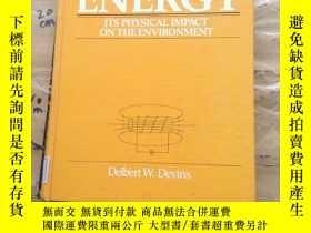 二手書博民逛書店Energy:罕見Its Physical Impact on