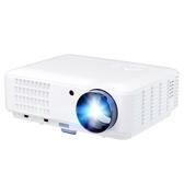 迷你投影儀 rigal RD-806增強版高清辦公投影機微型家用投影儀手機wifi1080P LX 新品特賣