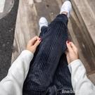 哈倫褲 金絲絨運動褲女秋冬季加絨加厚外穿棉褲哈倫褲寬鬆休閒束腳衛褲子 星河光年