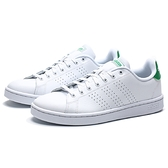 ADIDAS ADVANTAGE  小白鞋 白綠 休閒鞋 男 (布魯克林) F36424