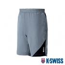 K-SWISS Woven Shorts 1運動短褲-男-灰