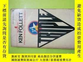 二手書博民逛書店Triple:罕見A NovelY146830 Ken Follett (Author) A SIGNET