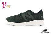 New Balance 慢跑鞋 男童 鬆緊帶 輕量運動鞋 O8404#墨綠◆OSOME奧森童鞋
