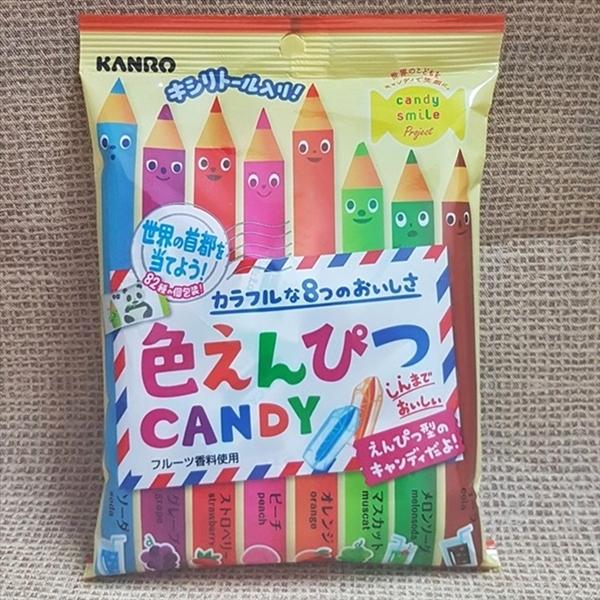 甘樂彩色鉛筆糖 80g【4901351018491】(日本糖果)