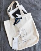 Moreover原創設計大容量純棉帆布袋環保袋單肩布包手提袋男女ins 卡米優品